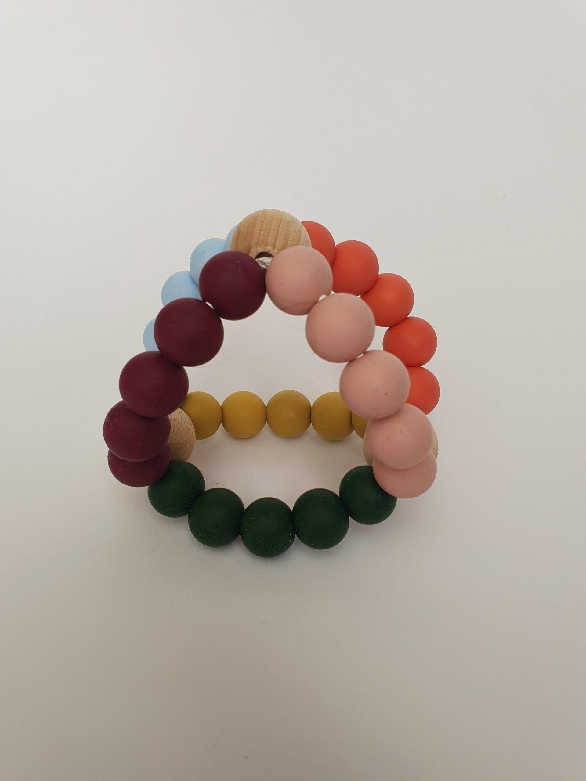 3d bijtring, diverse kleuren