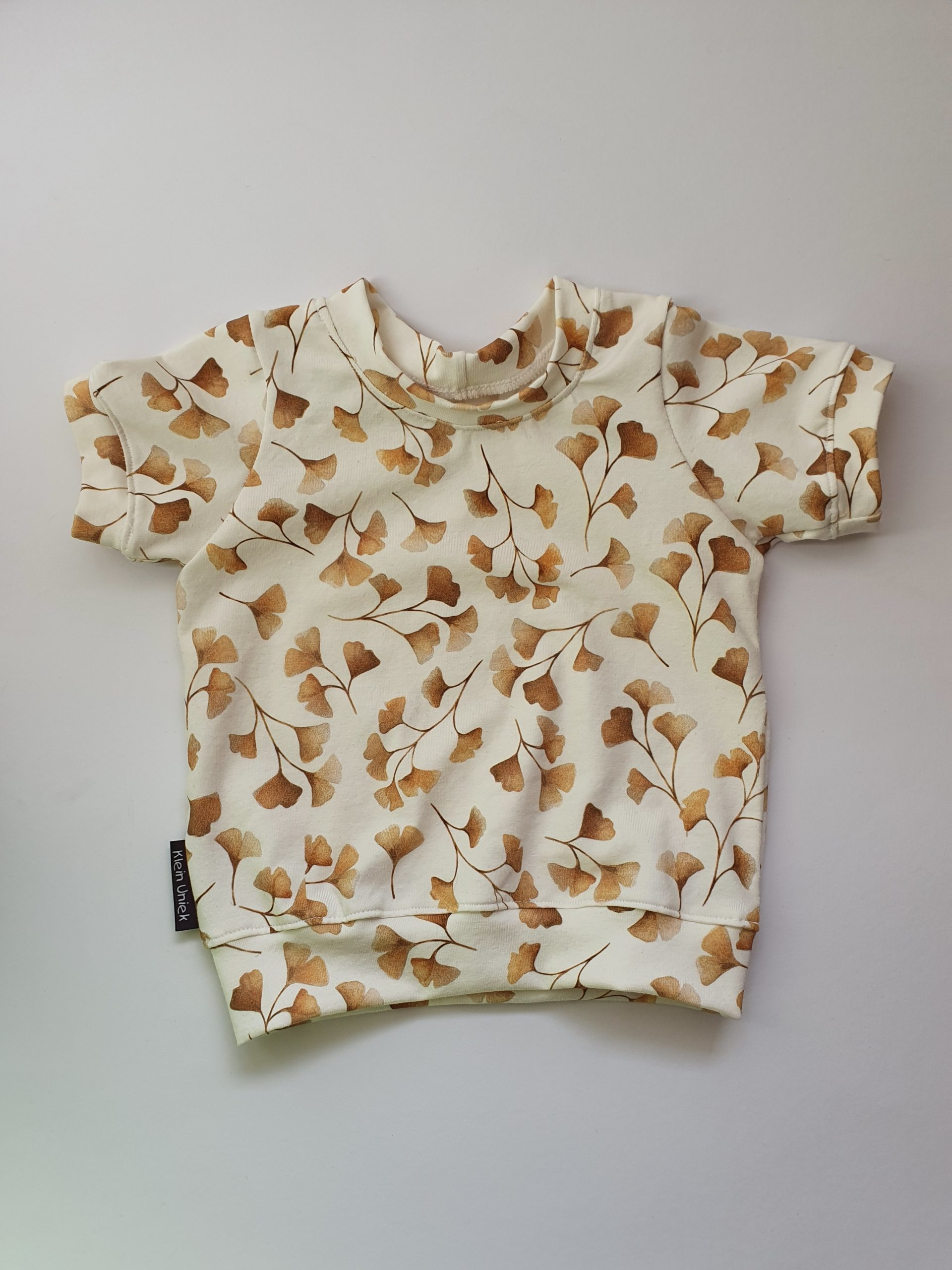 Mix & match collectie.. Ginko leaves T-shirt.