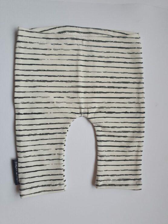 wit gestreept broekje maat 44