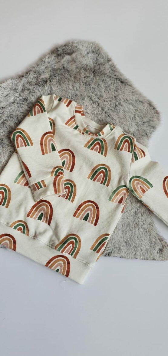 Rainbow sweater maat 56